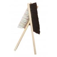 Четка от естествен косъм  с дървена дръжка